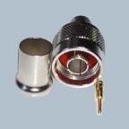 N - Koaxstecker, 50 Ohm, Crimp für RG213 - Kabel